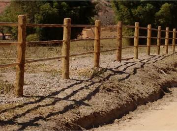 cercas de madeiras em betim